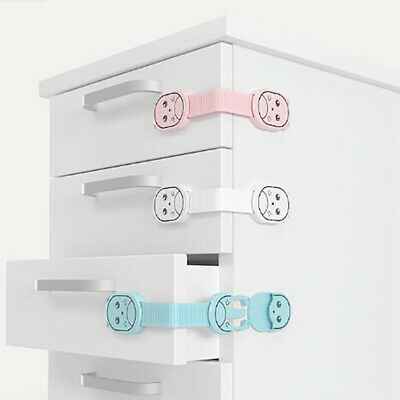 Baby Cartoon Safety Drawer Lock Child Closet Protection for Child Security LoJB