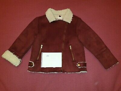 Pumpkin Patch Girl's Jacket Coat Burgundy Size 8 Years