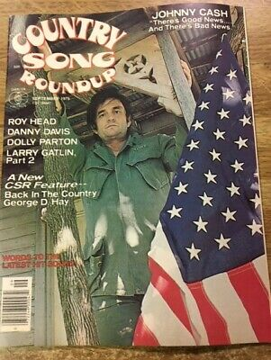 MUSIC MAGAZINE COUNTRY SONG ROUNDUP JOHNNY CASH Lot 36
