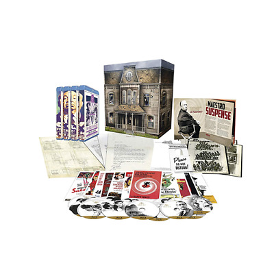 Box *** HOUSE OF HITCHCOCK - Limited Edition Collection (15 Blu-ray) *** sigilla