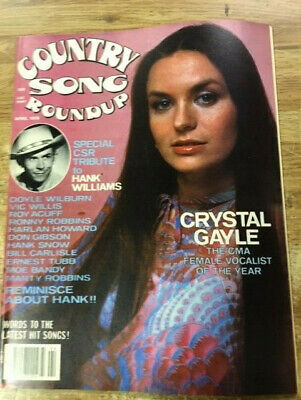 MUSIC MAGAZINE COUNTRY SONG ROUNDUP CRYSTAL GAYLE Lot 43