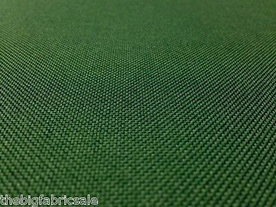 Tough Waterproof Green Outdoor Canvas Fabric Material Cover Cordura Type!