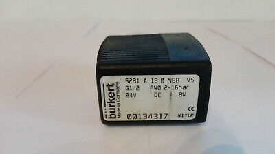 Bürkert Solenoid Valve, Type: 5281 A13,0 NBR M5, nr: 00134317 Good Condition