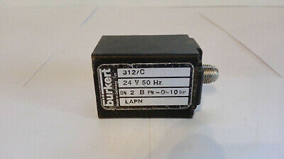 Bürkert Solenoid Valve, Type: 312/C, 24V, 50Hz Lapn ) Good Condition