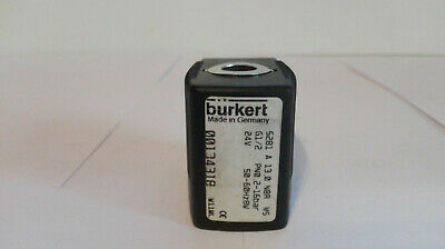 Bürkert Solenoid Valve, Type: 5281 a, nr: 00134318 Good Condition