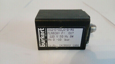 Bürkert Solenoid Valve, Type: 312-D, nr: 043866U Good Condition