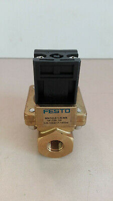 Festo Solenoid Valve, Type: MN1H-2-1/4-MS (161725) / Very Good Condition