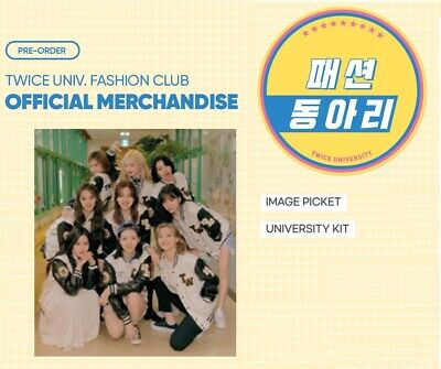[TWICE] TWICE Official New MD TWICE UNIV. FASHION CLUB Pre-Order Product