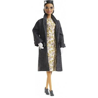 Barbie Inspiring Women Rosa Parks Doll with Accessories Doll Wearing Fashion NEW