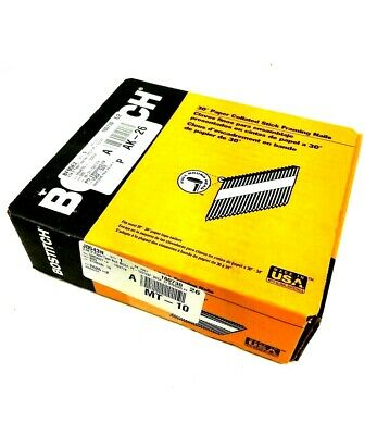 """STANLEY BOSTITCH 2.5K 3""""Paper Tape Nail PT-10D120FH25 NEW"""
