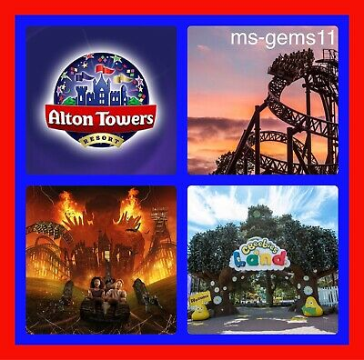 2 Alton Towers Tickets - Pick Your Own Date Online 3Rd April-1St November 2020