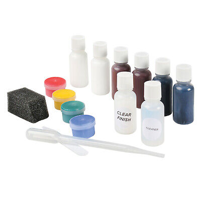 Liquid Leather Color Restoration Kit for Black and Brown Leather