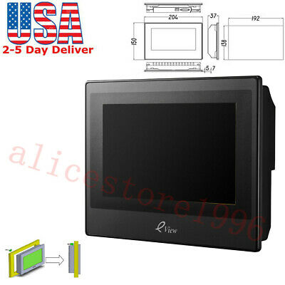 KINCO 7 HMI Touch Screen LCD Operator Panel eView ET070 HMIware v2.2&Cable Tool