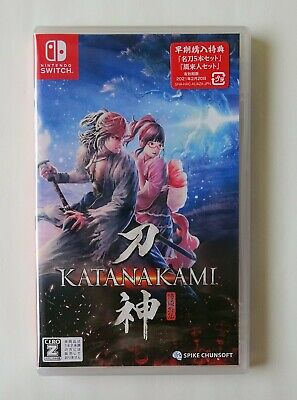 KATANA KAMI Way of the Samurai [ Region-Free / Multi-Language ] Nintendo Switch