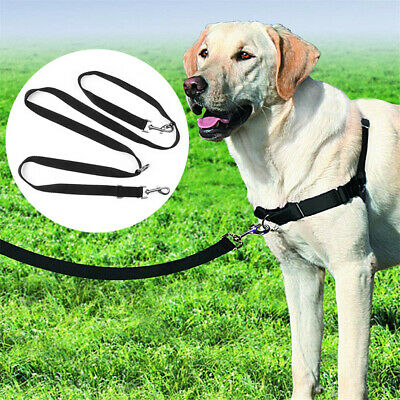 2M Dog Lead Police Style Leash Multi-Function Double Ended Obedience Training