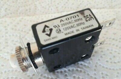 Mobility Scooter/Power Chair 25A Cut Out Fuse