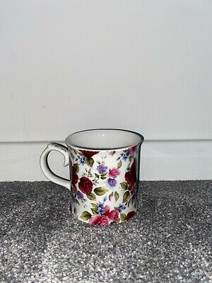 Coffee Mugs Royal Burlington. Fine Bone China Floral Pattern