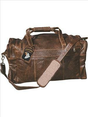 Scully 802-10 Distressed Lambskin Cargo Duffel Bag