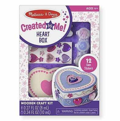 Melissa & Doug - Created by Me! Wooden Heart Box