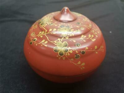 Beautiful Antique Chinese Lacquer Box 19th Century
