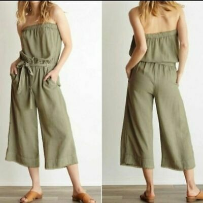 Anthropologie Cloth & Stone Jumpsuit Size S