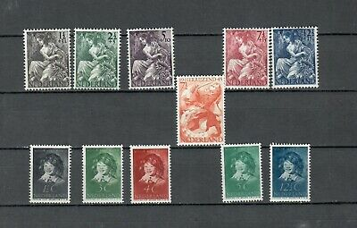Nethehrlands COLLECTION POSTALLY MH COMPLETE SET STAMPS LOT(NETH 583)