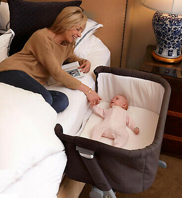 Babyworth Child care Cosy Time Sleeper Bassinet - Grey