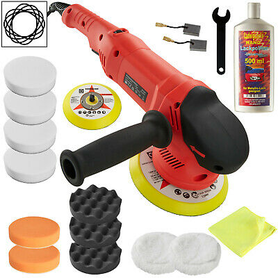 Orbital Eccentric Polisher Set Accessories Polishing Kit Machine Car 710W