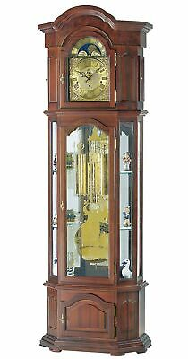 Grandfather clock walnut from AMS AM S2045/1 NEW