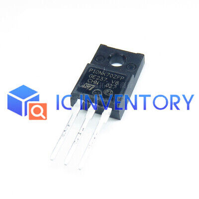 2pcs STP10NK70ZFP P10NK70ZFP NEW GENUINE BY ST TO220 mosfet