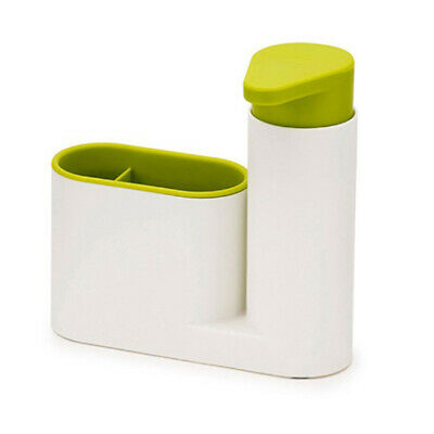 US Kitchen Multifunction Bathroom Container Compact Sink Soap Dispenser Case