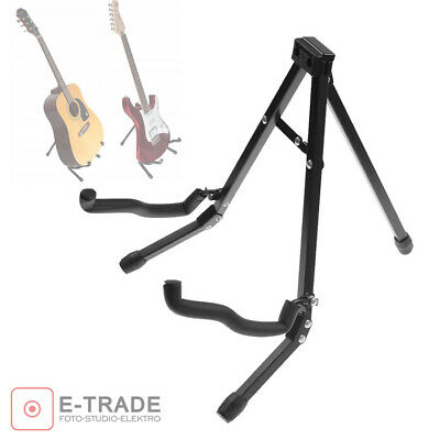 Guitar Floor Stand Holder A-Frame Universal Fits Acoustic Electric Bass Guitars