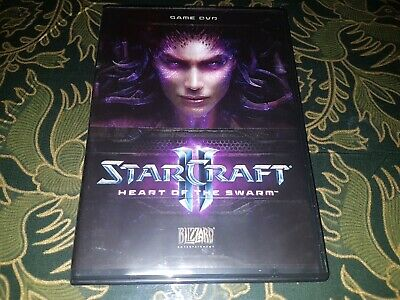 StarCraft 2 II Heart Of The Swarm (Star Craft) PC DVD Rom Game VGC