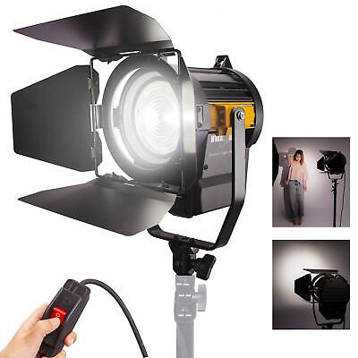 LED Fresnel 50W Spotlight Dimmable Professional Studio Photography Lighting UK