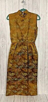 Chinese Dress Small Size Ex-Theatre Costume Small Side Split Possibly Handmade