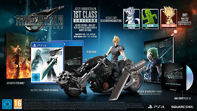Final Fantasy VII Remake 1st Class Edition incl. Cloud Strife Hardy-Daytona PS4