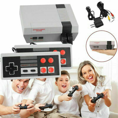 Retro Game Console 620 Built-in MINI Classic NES Games with 2 Controllers