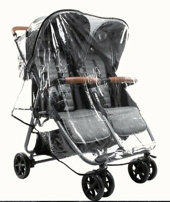 BRAND NEW Rain Cover / Shield for Zoe XL2 Twin / Double Stroller