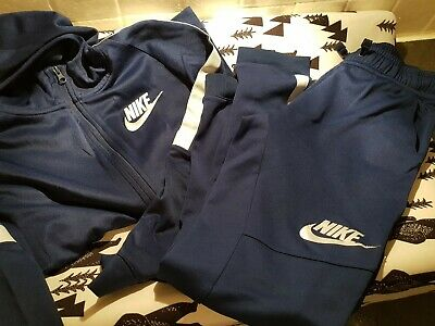 Nike Girls Navy Tracksuit Xl 13-15 YRS  Great Condition