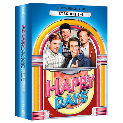 STV *** HAPPY DAYS - Boxset Stagioni 1-4 (14 Dvd) *** sigillato