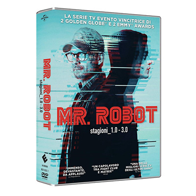 STV *** MR. ROBOT - Stagioni 1-3 (Box 10 Dvd) *** sigillato