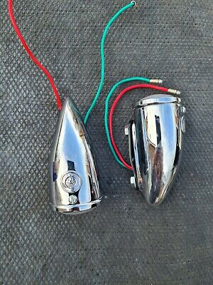 Wing SIDE/INDICATOR OR SIDE CHROME LAMP from 1939-55 new