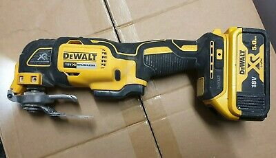 DeWALT DCS355P1 18v XR Oscillating Multi Tool Bare Unit with 1x 5.0AH No charger