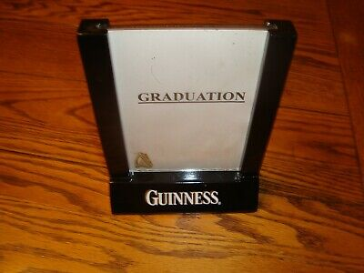 Guinness Table Top Beer Sign Menu Holder 2 Sided Acrylic Inserts Sturdy Free Shp