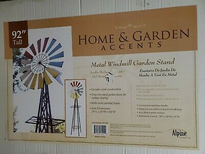 Case IHC Official Logo/'d 8 ft Decorative Steel Windmill SDDS 99907