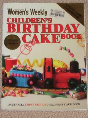 as NEW  WOMENS WEEKLY COOKBOOK COOKING KIDS BIRTHDAY CAKES RECIPES PARTIES