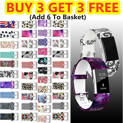 Watch Strap For Fitbit Charge 2 /HR Strap Smart Band Replacement Sport Wristband
