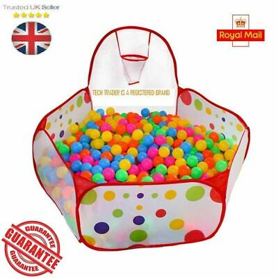 Portable Indoor Kids Baby Children Game Play Toy Tent Ocean Ball Pit Pool Pop Up