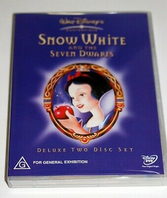 New R4 Walt Disney SNOW WHITE AND THE SEVEN DWARFS 2 DISC SEALED DVD