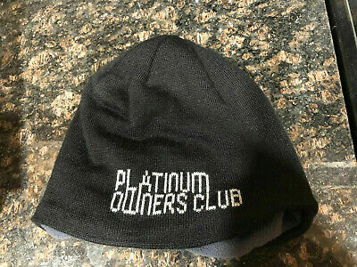 Ski-Doo Platinum Owners Club Hat Wool Black 2015 Rare Style 448241